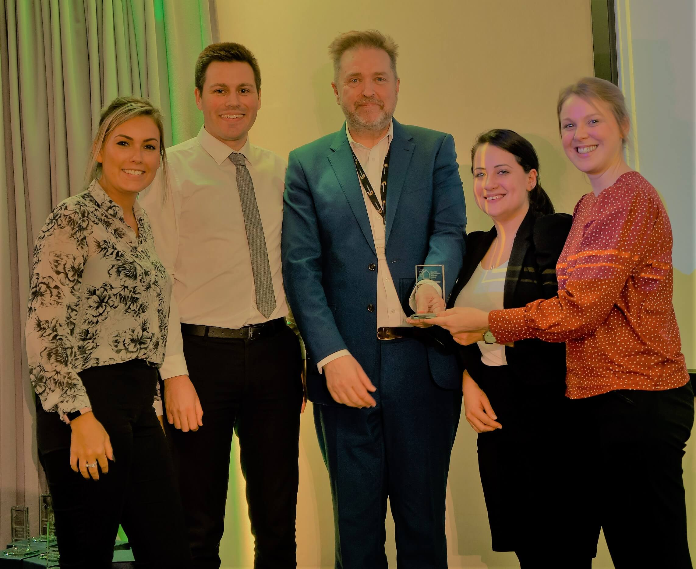 Onecom honoured for raising thousands of pounds for Charity