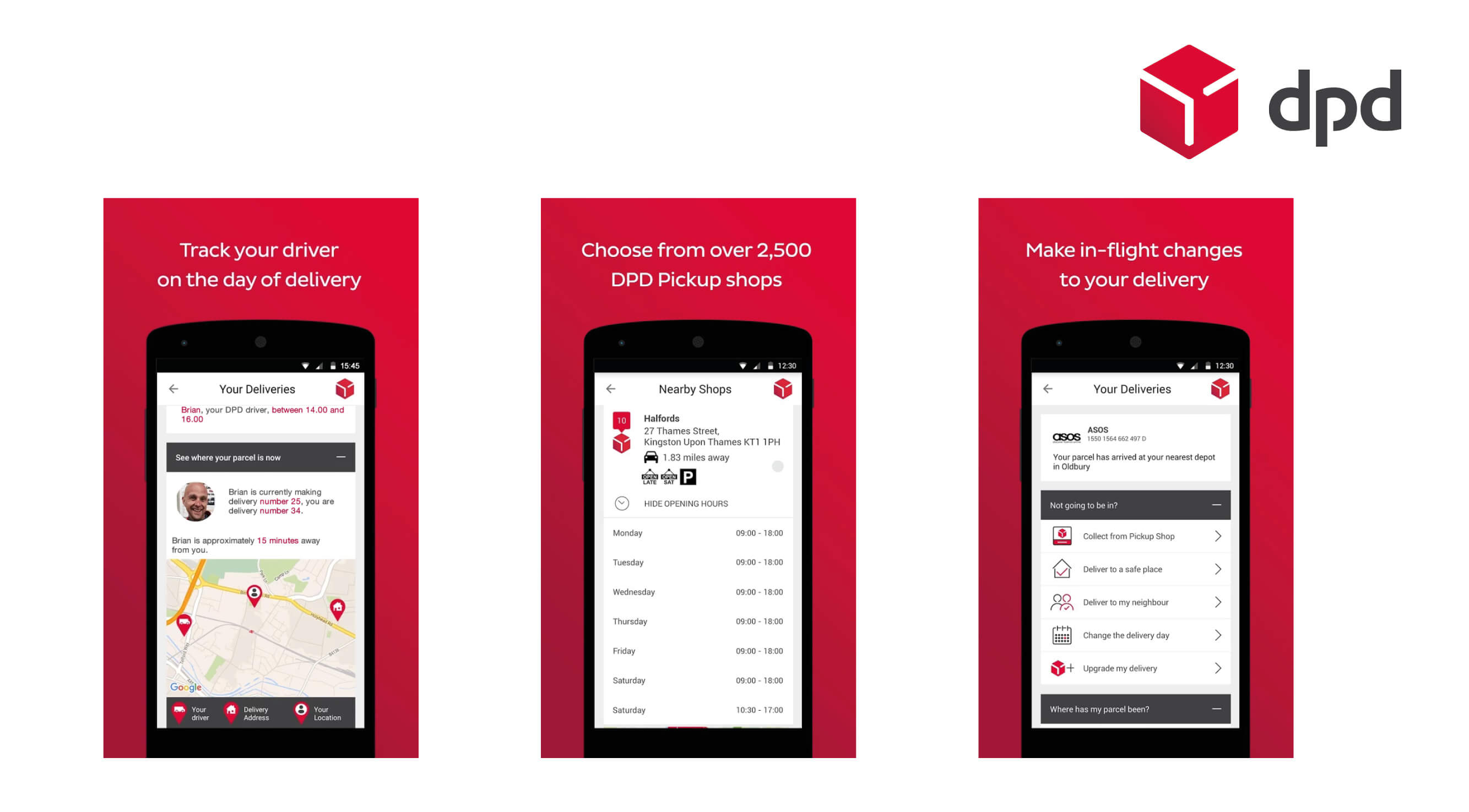 Introducing the new DPD app