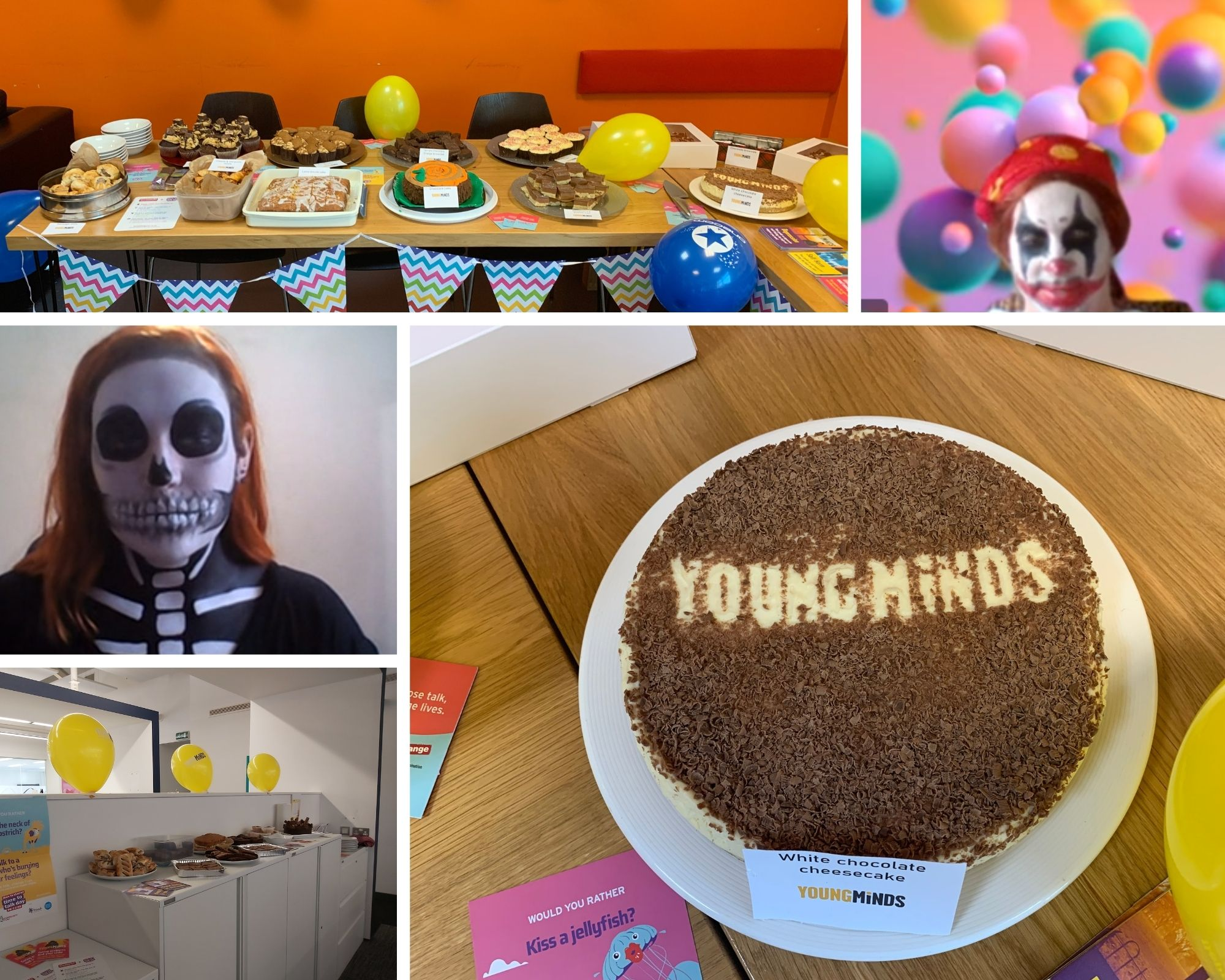 Baking, swimming and running through the year to support YoungMinds