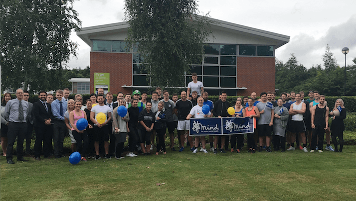 Onecom staff help raise over £2,000 for MIND with charity run