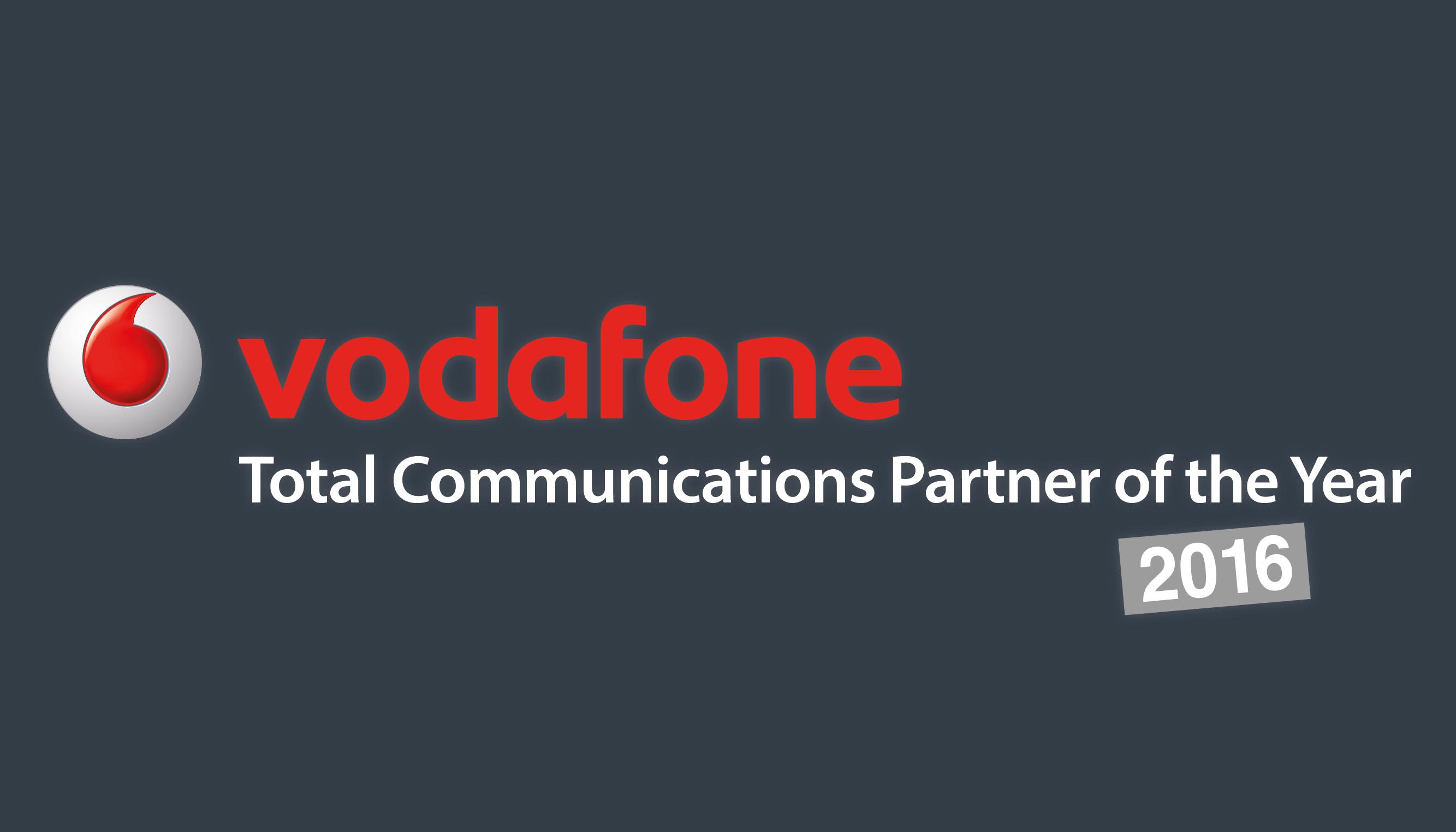 Onecom is Vodafone's Total Communications Partner 2016