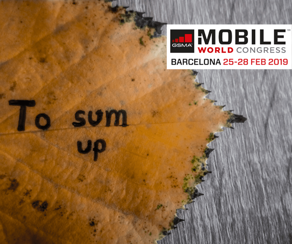 Fold away your phones – it's a wrap for MWC 2019 – Onecom