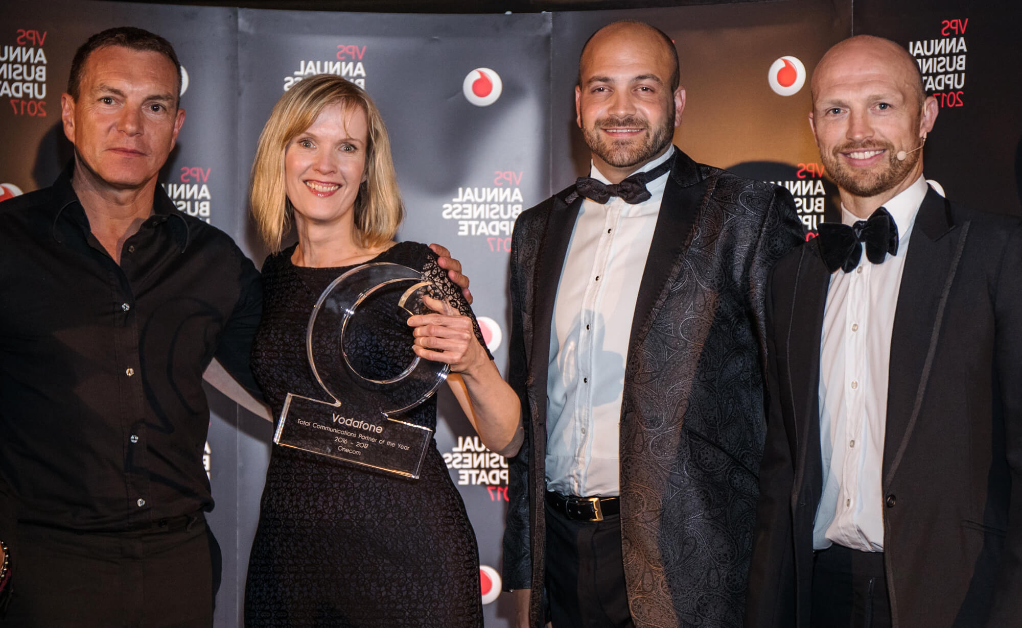 Onecom awarded top Vodafone accolade for seventh year running