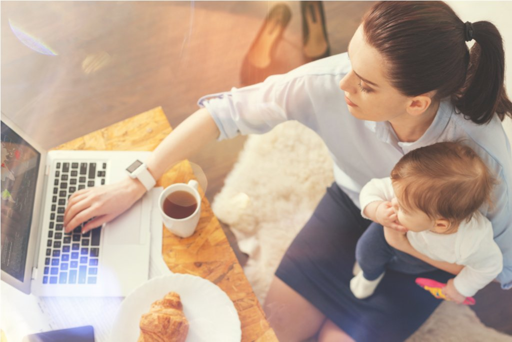 1 in 10 working mums set up their own businesses after maternity leave