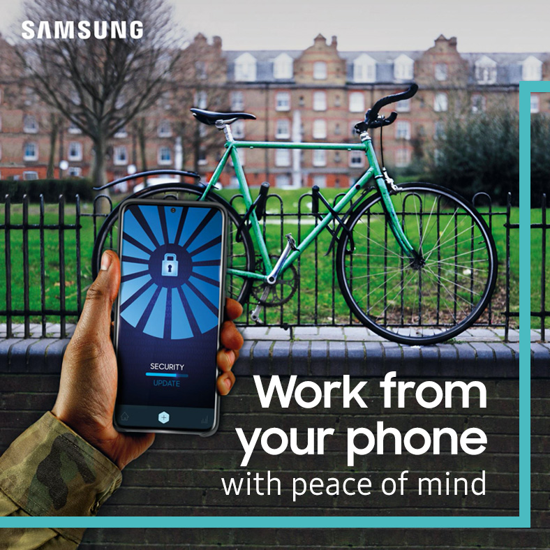 Social post samsung FB Work from your
